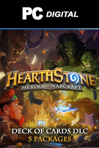 Hearthstone Heroes of Warcraft - Deck of Cards DLC PC
