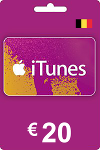 iTunes Gift Card 20 EUR BE