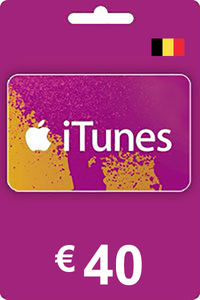 iTunes Gift Card 40 EUR BE
