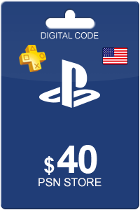 Playstation Network Card 40 USD