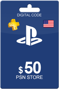 Playstation Network Card 50 USD