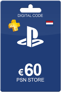 Playstation Network card 60 Euro NL