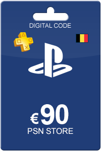 Playstation Network Card 90 Euro BE