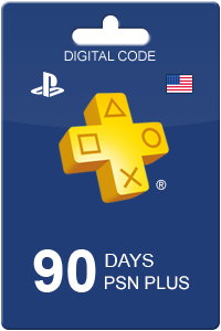 PlayStation Plus 90 days USA