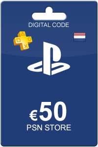 Playstation Network Card 50 euro NL