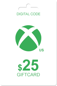 Xbox Gift Card 25 USD