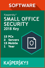 Kaspersky Small Office Security 15 PC / 2 Servers / 15 Mobile / 1 Year
