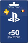 Playstation Network Card 50 euro BE