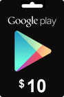 Google Play Gift Card 10 USD