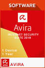 Avira Internet Security Suite 2018 1 Year - 1 Device