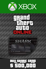 Bull Shark Cash Card 500,000 USD