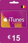 iTunes Gift Card 15 EUR BE