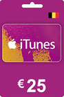 iTunes Gift Card 25 EUR BE
