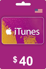 iTunes Gift Card 40 USD USA