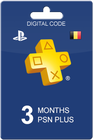 Playstation Plus 90 dagen BE