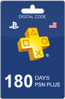 PlayStation Plus 180 days USA